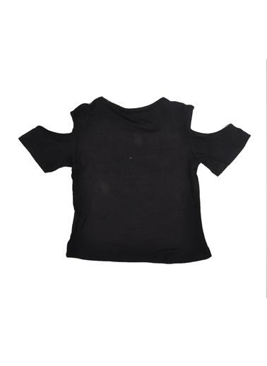 Puledro Tişört Siyah